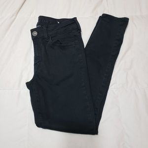 Black American Eagle Ne(x)t Level Stretch Jeans